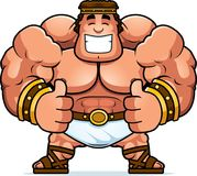 Cartoon Hercules Thumbs Up. A cartoon illustration of Hercules with thumbs up Royalty Free Stock Photography