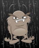 Cartoon illustration. Monster. Royalty Free Stock Photography