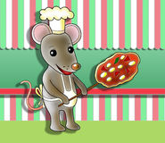 Mouse cook Stock Images
