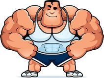 Cartoon Trainer Confident vector illustration