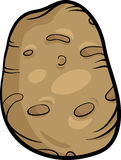 Potato vegetable cartoon illustration Royalty Free Stock Photo