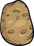 Potato vegetable cartoon illustration Royalty Free Stock Photo