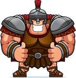 Cartoon Centurion Thumbs Up. A cartoon illustration of a Roman centurion with thumbs up Stock Photography