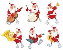 Cartoon Illustration of Santa Claus for you Design. Cartoon Character Stock Photos