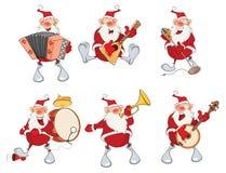 Cartoon Illustration of Santa Claus for you Design. Cartoon Character Royalty Free Stock Image