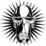Tribal mask Royalty Free Stock Image