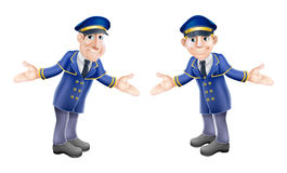Doormen or bellhops Royalty Free Stock Photos