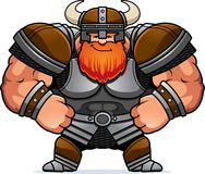Cartoon Viking Confident stock illustration