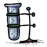 Cartoon image of Flask Icon. Laboratory symbol Stock Image
