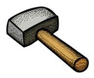Cartoon image of hammer Stock Photos