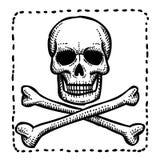 Cartoon image of Hazard warning attention sign Stock Photo