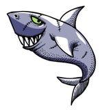 Cartoon image of shark Stock Photography