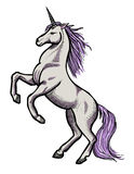Cartoon image of unicorn Royalty Free Stock Photo