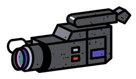 Cartoon image of Video camera. Camera symbol Stock Image