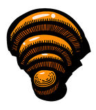 Cartoon image of WIFI Icon. Wireless network symbol. An artistic freehand picture Royalty Free Stock Photography
