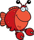 Cartoon Imitation Crab Smiling Stock Photo