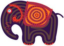 Cartoon Indian Elephant Stock Photos
