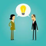 Cartoon innovation and teamwork design Stock Photo