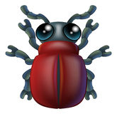 Cartoon insect bug character Royalty Free Stock Image