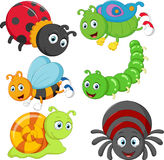 Cartoon insect royalty free illustration