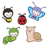 Cartoon Insects Stock Images
