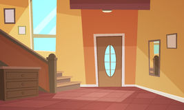 Cartoon Interior Royalty Free Stock Photos