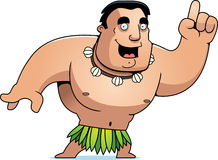 Cartoon Islander Idea Stock Photo