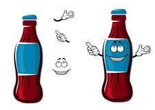 Cartoon isolated sweet soda bottle Stock Photo