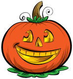 Cartoon Jack o\' Lantern Stock Photography