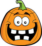 Cartoon Jack o' Lantern. Cartoon illustration of a jack o' lantern Halloween pumpkin royalty free illustration