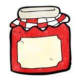 cartoon jam jar Royalty Free Stock Photography