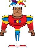 Cartoon Sad Jester. A cartoon jester looking sad royalty free illustration