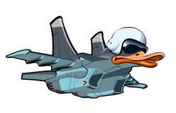 Cartoon Jetbird 1 Royalty Free Stock Photos