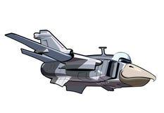 Cartoon Jetbird 3 Stock Photo