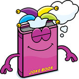 Cartoon Joke Book Dreaming Stock Photos