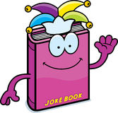 Cartoon Joke Book Waving Stock Photo