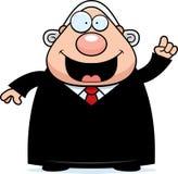 Cartoon Judge Idea Royalty Free Stock Photo