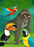 Cartoon junge - illustration for the children Stock Photo