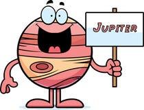 Cartoon Jupiter Sign Royalty Free Stock Photography