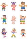 Cartoon kid Stock Photo