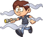 Cartoon kid Stock Photo