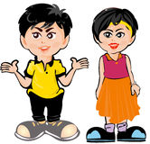 Cartoon Kids Stock Images