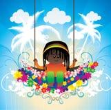 Cartoon kids illustration Royalty Free Stock Photo