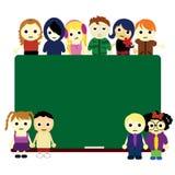 Cartoon Kids Unity Stock Images