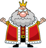 Cartoon King Angry Royalty Free Stock Images