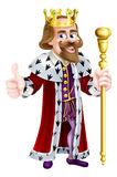 Cartoon King Royalty Free Stock Images