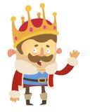 Cartoon King Stock Images