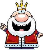 Cartoon King Idea Royalty Free Stock Photography