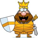 Cartoon King Idea Royalty Free Stock Photos