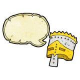 cartoon king's armor with speech bubble Stock Photos